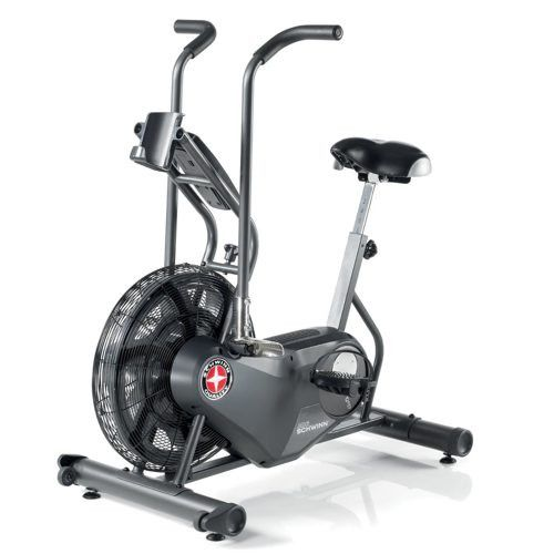 What You Need To Know About a Schwinn Airdyne AD6 The Schwinn Airdyne AD6 exercise bike is not like any regular exercise bike. Using wind-resistance technology means the harder you pedal, the higher t