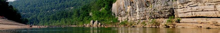 Canoeing on the Buffalo River