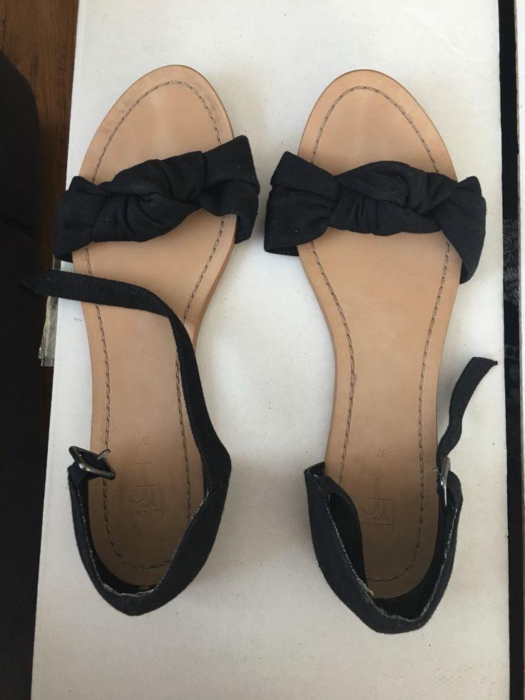 ZARA kahverengi ve siyah sandalet