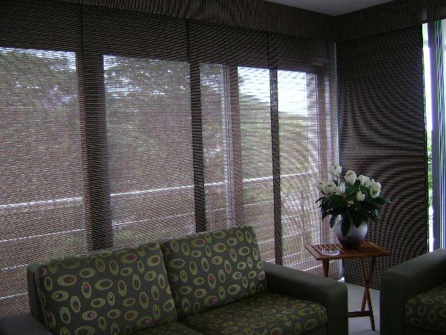 panel japonés en fibras naturales. Recomendado para ventanas piso-techo