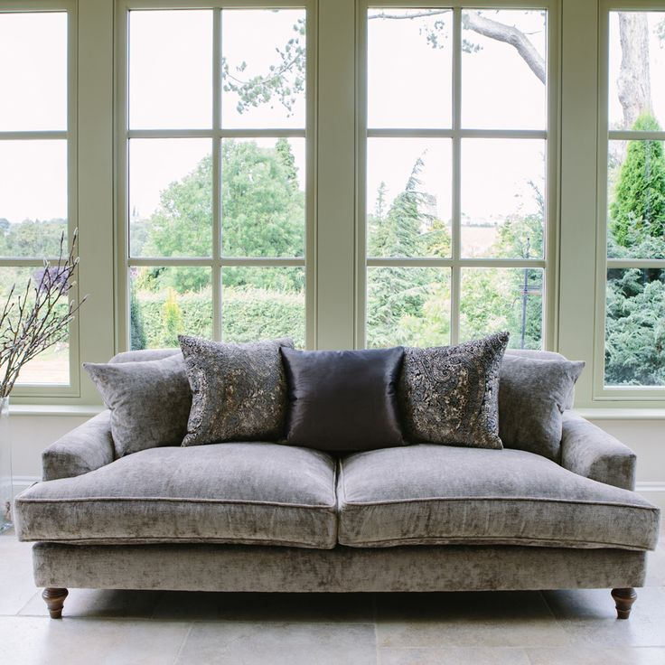 Luxury Chatsworth Super Soft Sofa From Curiosity Interiors.