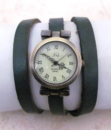Leather Wrap Women Watch - Ladies Wrist Watch