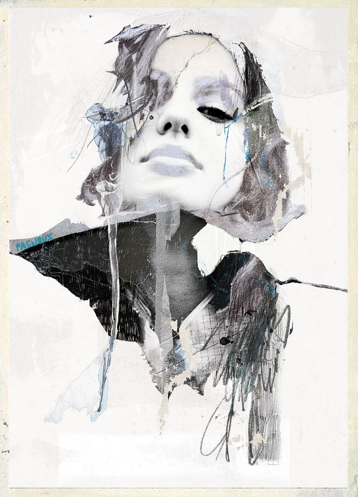 by Sandrine PAGNOUX #mixed_media ( Sophie etchart #photography )