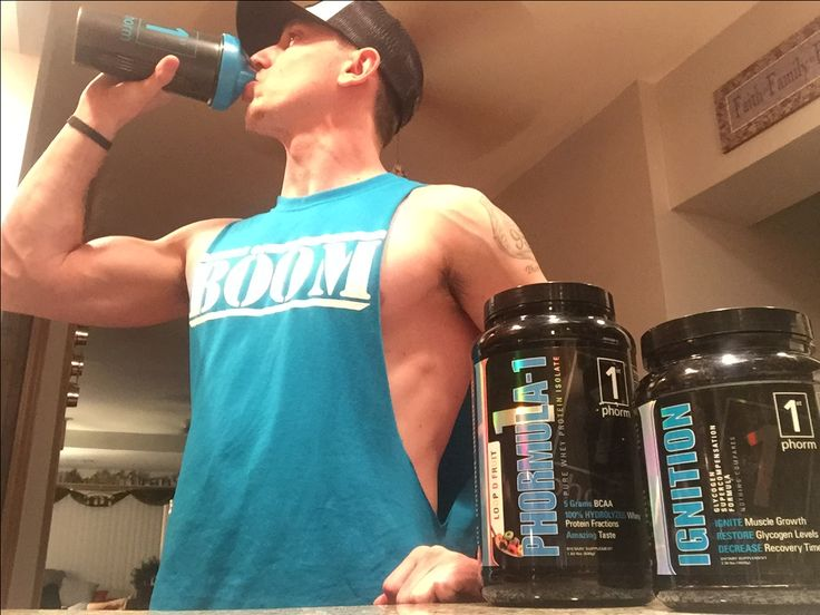 The perfect post-workout combo! 1st Phorm's Phormula-1 with Ingnition, which is the best post-workout shake to help the recovery process start ASAP!