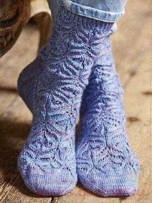 ажурные носки