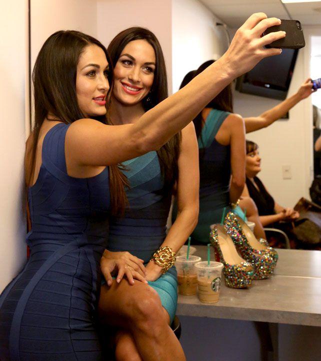 Nikki wwe total nude divas bella