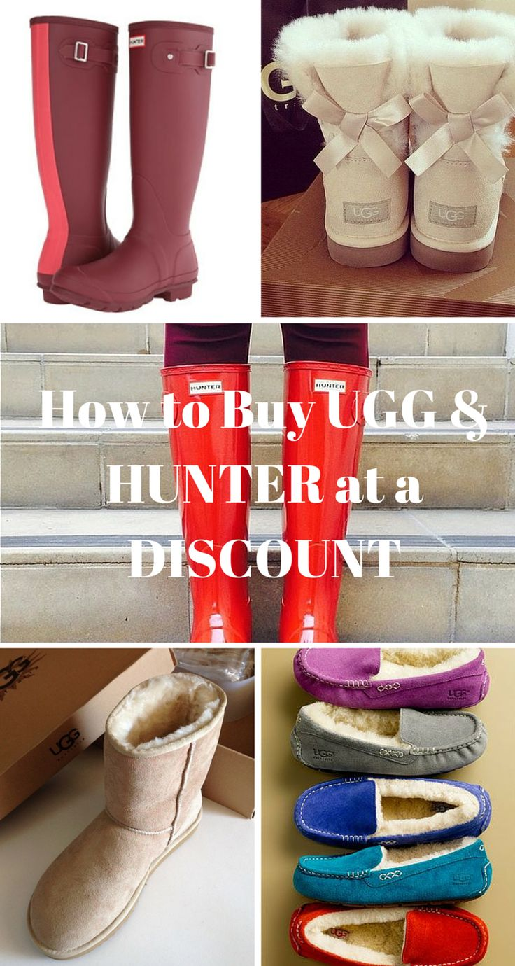 Hunter & UGG sale! Buy UGG and Hunter at up to 70% off retail prices. Click image to install the FREE Poshmark app now.