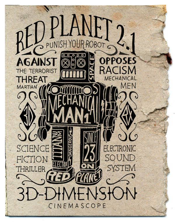 Red Planet 2.1 by BMD Design via Behance x