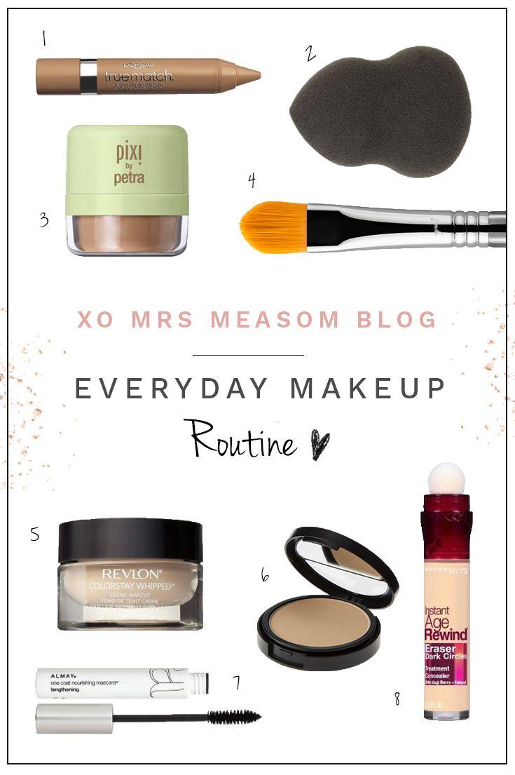 xo, mrs measom: Everyday Makeup Routine (drugstore edition)