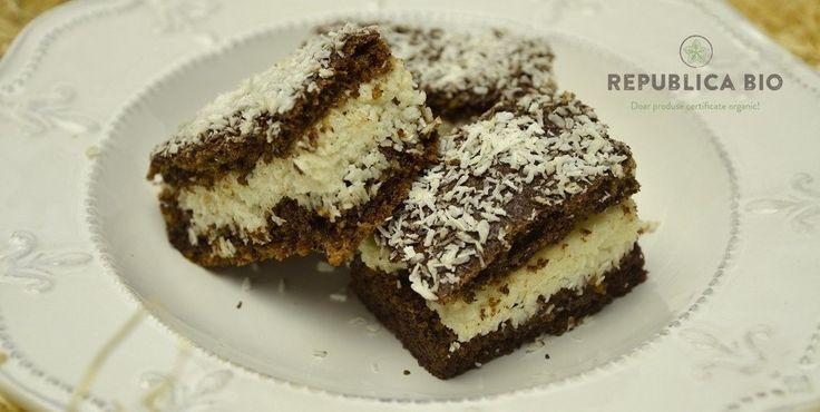 Prăjitura Alinei, cu cocos, fără făină și fără gluten – Republica BIO