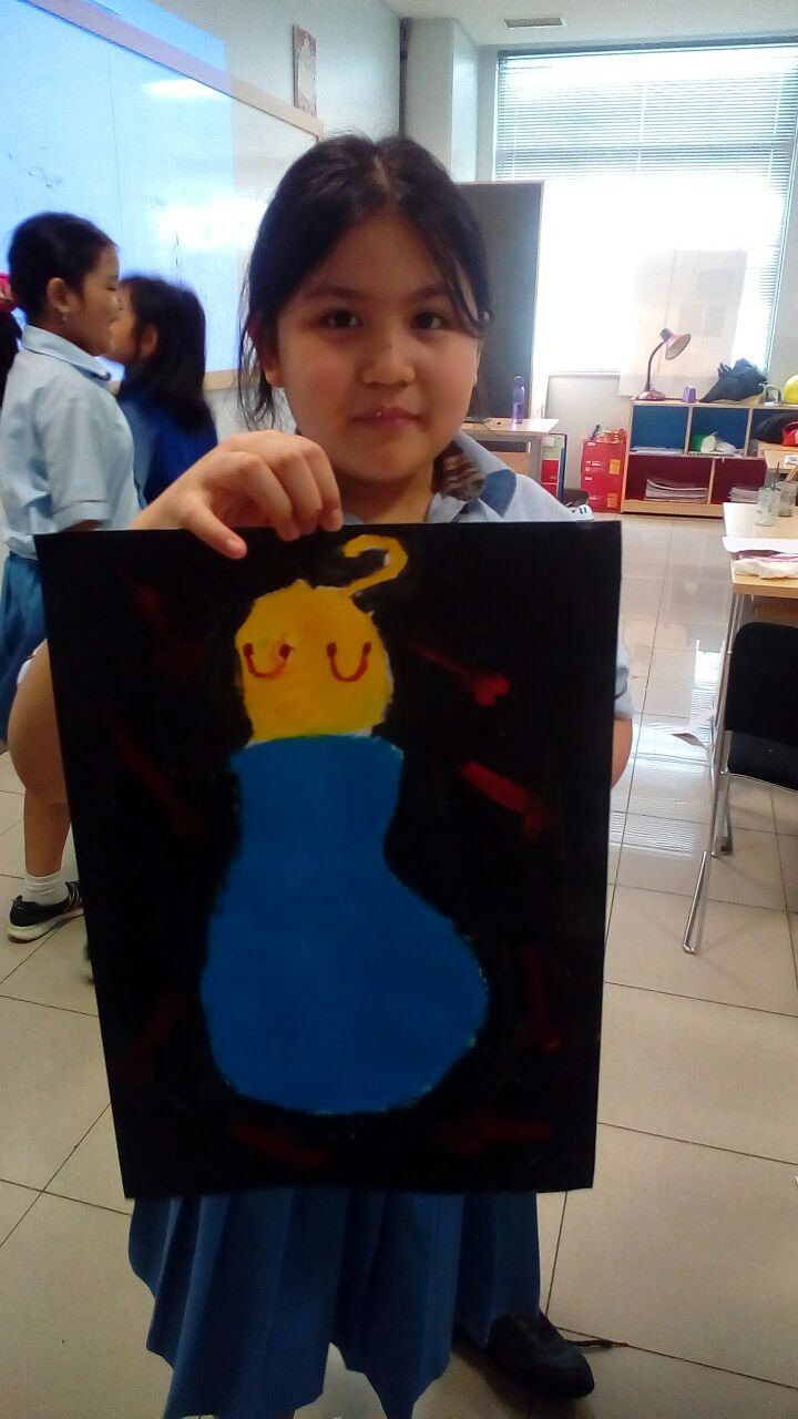 Saneska - Joan Miro - Roll a Miro Game @Binus International School Simprug