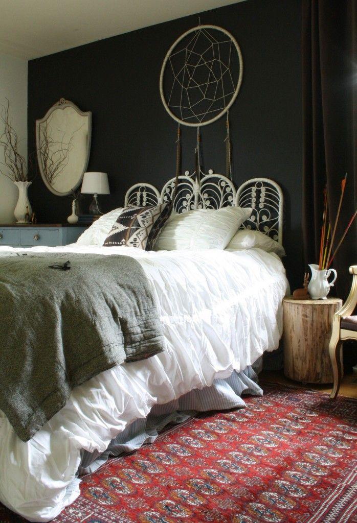 moody boho bedroom - Bedroom Furniture Decor