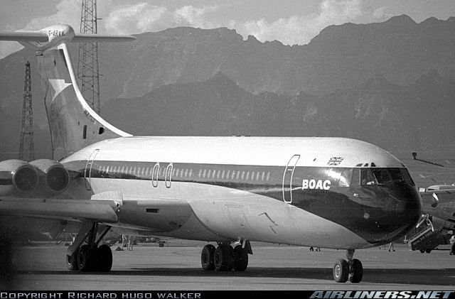BOAC Vickers VC10 Srs1101