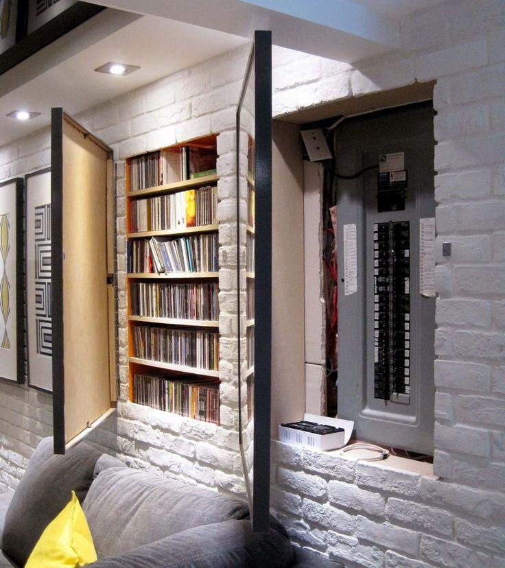 Les Meilleures Images Du Tableau Soussol Sur Pinterest Déco - Porte placard coulissante jumelé avec serrurier metallier paris