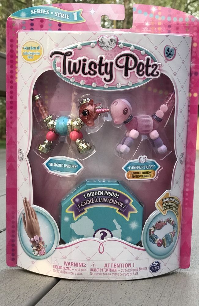 Twisty Petz 3 Pack Marigold Unicorn Cakepup Puppy Surprise Hidden Series 1 Cool Toys For Girls Candy Land Birthday Party Beautiful Toys