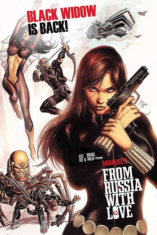 Black Widow - Mike Deodato Jr.