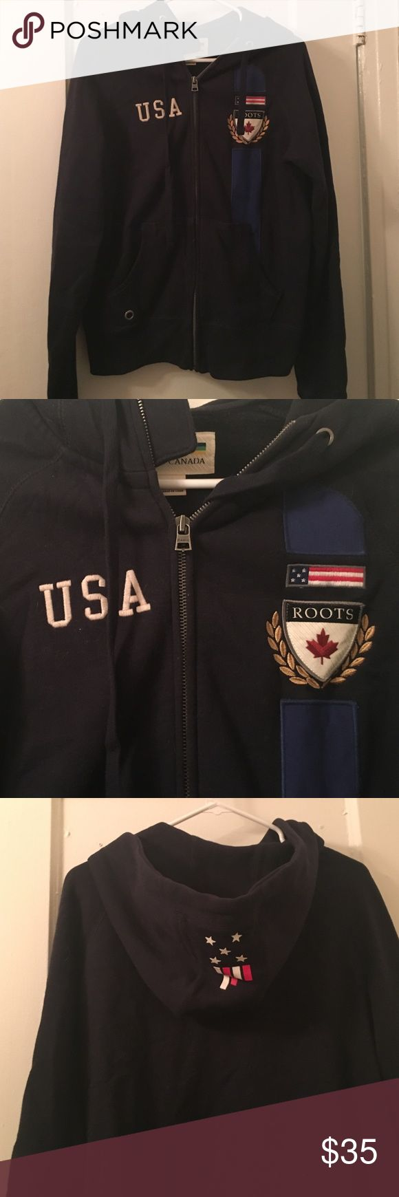 Authentic Roots USA hoodie Roots USA hoodie Roots Sweaters