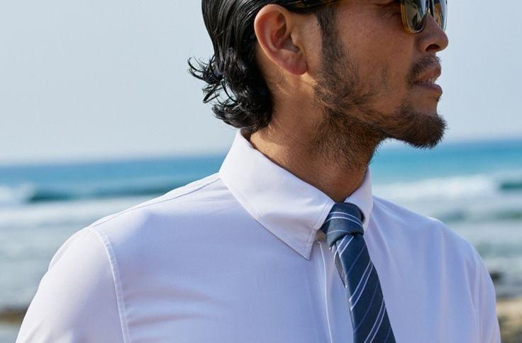 Combinaison néoprène pour les businessmen-surfeurs!