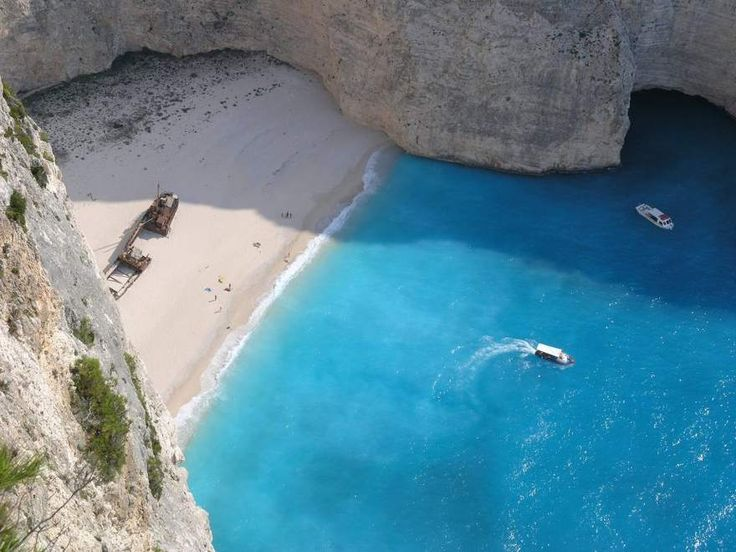 Zakyntos -- take me to this beach please!