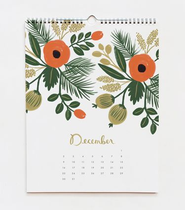 """I found my 2012 Calendar! ONly $16.25 on Fab, and $21 direct from the Riffle Paper Co. itself with the code """"calendar25."""""""