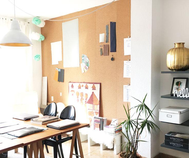 Pared de corcho estudio oficina leroy merlin decoration for Leroy merlin oficinas centrales