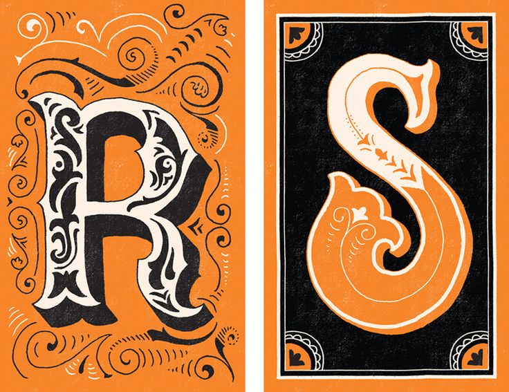Mary Kate McDevitt's amazing lettering for Chronicle's upcoming Let's Bring Back: The Lost Language Edition