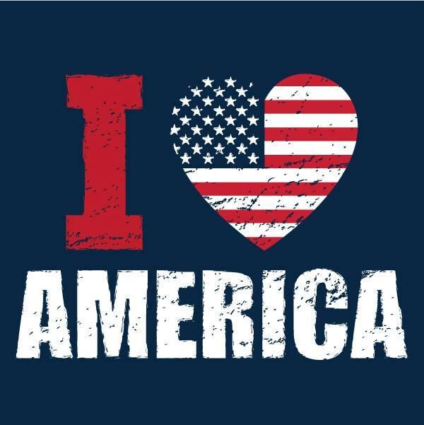 I ♥ America! Let me clarify. I love the country of my birth and my citizenship. The United States of America! I ALSO love the countries of my heritage.