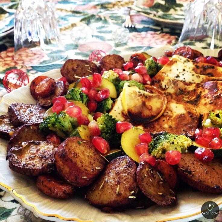 Vegan Christmas Crown | Visit site for Recipe