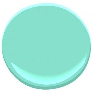 If you're looking for fun mint paint color, try Mermaid Green #2039-50, by Benjamin Moore.