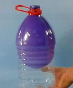 Actividades para Educación Infantil: EXPERIMENTO: el globo que no se desinfla