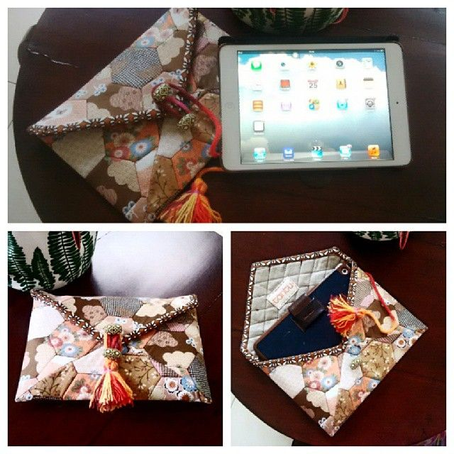 #mini #ipad #case with #quilt #cover