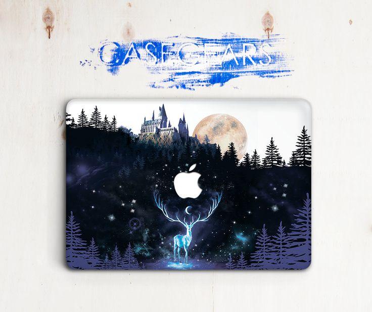 Harry Potter Macbook Pro 13 Hogwarts Macbook Pro Retina 13 Nature Macbook Air 12 Patronus Macbook Pro 15 Deer Macbook Air Case CGMC0055 by CaseGears on Etsy
