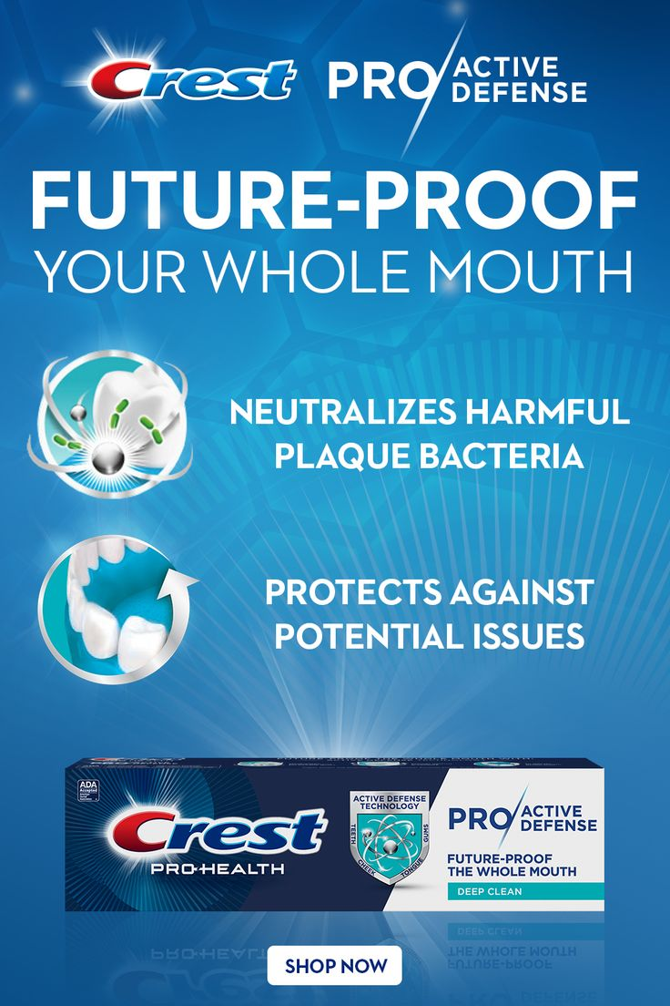 Pro/Active Defense Toothpaste takes a 360 approach to