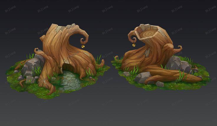 ArtStation - 3D scenes, Ht Jiang