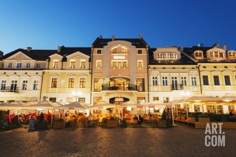 Rynek Town Square, Rzeszow, Poland, Europe Photographic Print by Christian Kober at Art.com
