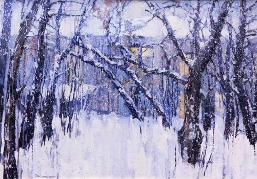 Иркутская зима