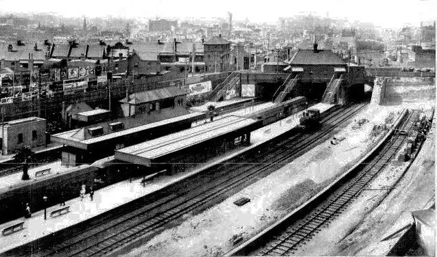 Redfern Station.Saturday 25th. November 1911.