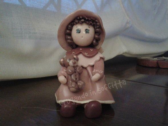 bambolina in pasta gabrylea