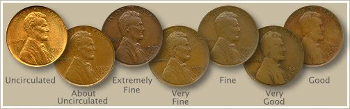 Old American Coins | Find your old US penny values below. Discover all the rare dates and ...