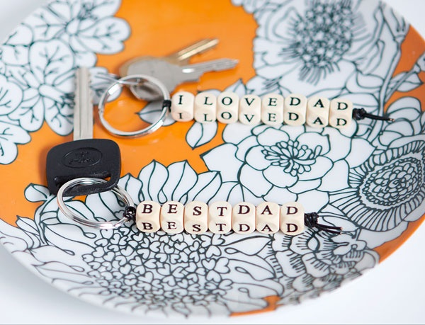 simple #diy keychains make a great gift