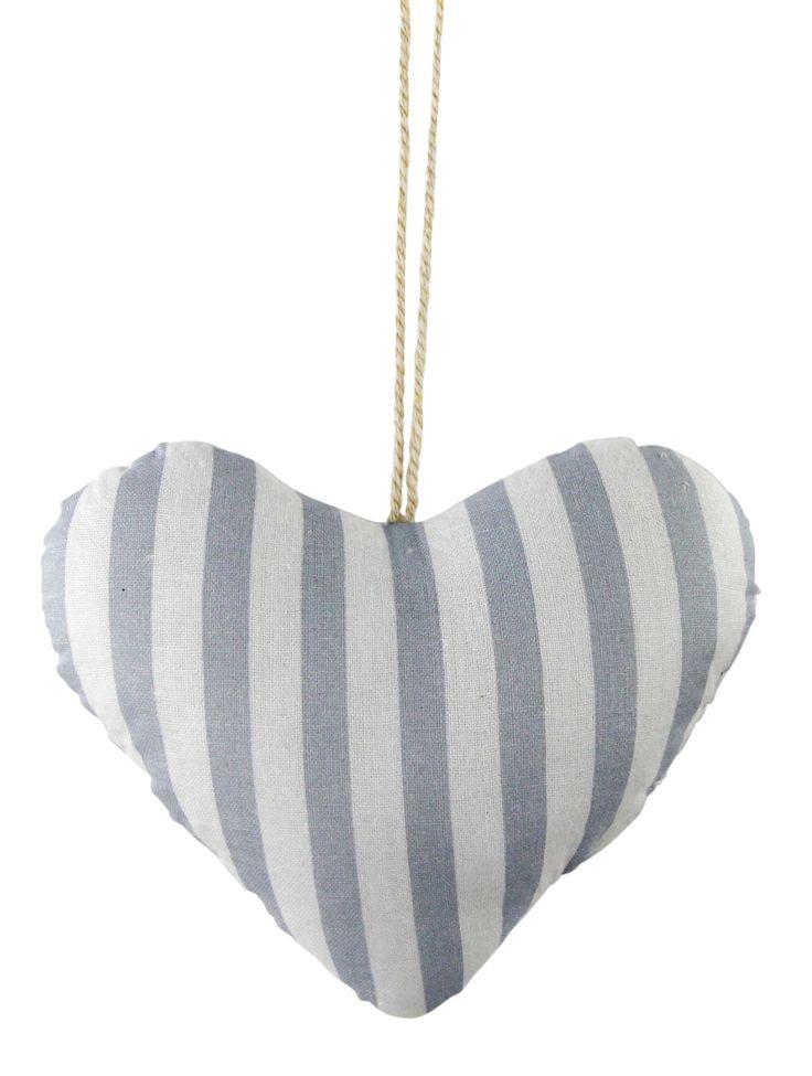 Aix-en-Provence blue striped heart www.earlysettler.com.au