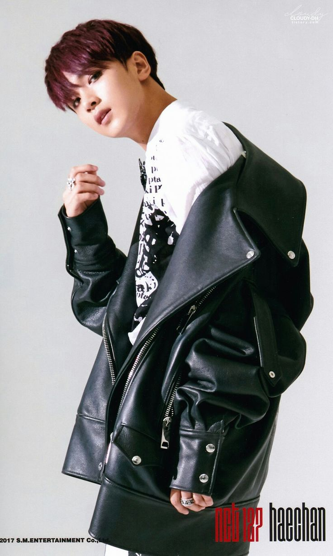 NCT 127  Haechan [ 이동혁 ] ㅡ CHERRY BOMB Photoset ⓐ version scan by. 흐린