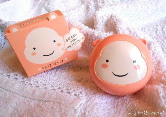 Grapefruit masque - Face Shop -  Korean Makeup... ahhh 귀엽다!! :3