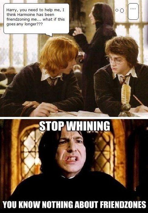 Image detail for -Jokes Funny Pictures Comics and Cartoons Friendzoned like Snape.