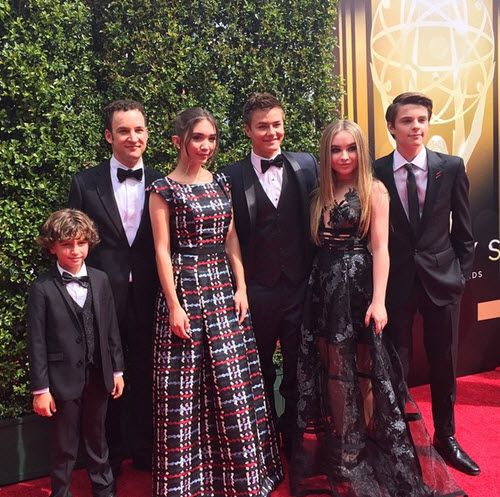 "Photos: Cast Of ""Girl Meets World"" At The Creative Arts Emmy Awards September 12, 2015 - Dis411"
