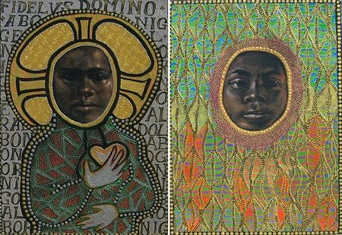 Icon to a stolen child, faith & nature by Julie Dowling