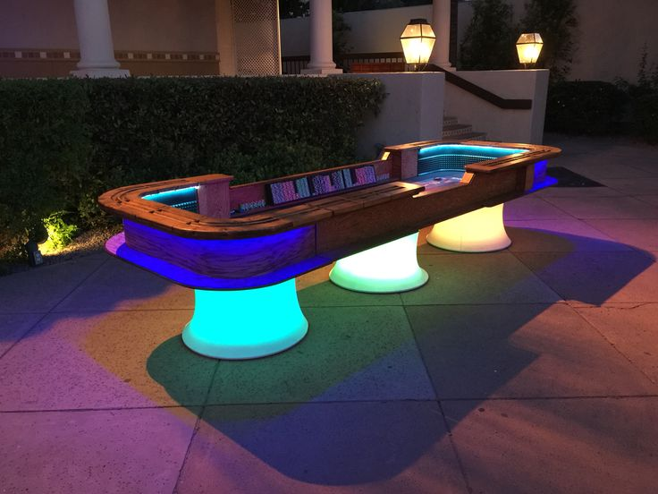 Glow Tables 18 best illuminated glow casino tables images on pinterest