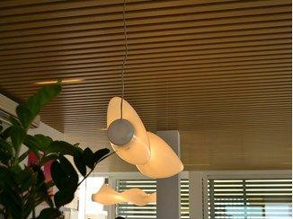 Pannelli per controsoffitto in legno composito MODULATUS   Pannelli per controsoffitto - WOODN INDUSTRIES