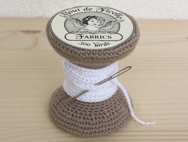 The Serial Crocheteuses # 3 La boîte à couture - Nath - Bout de Ficelle