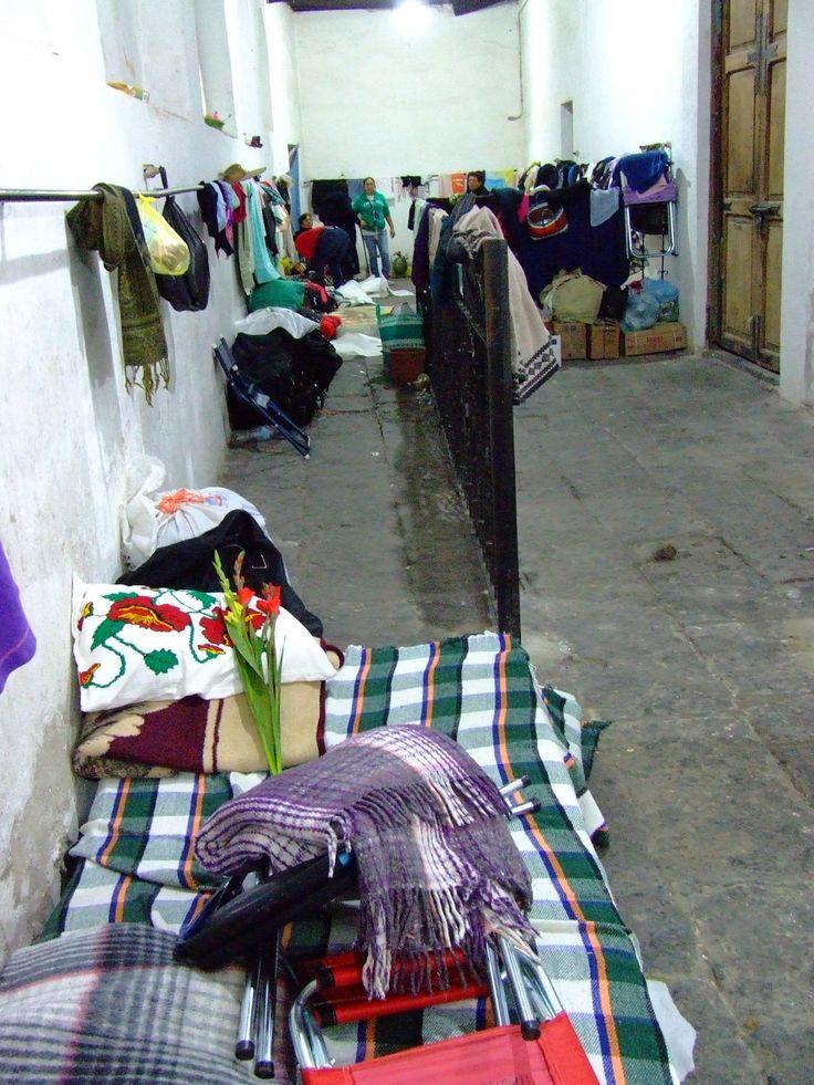 Área de descanso y dormitorio. Ejercicios espirituales para mujeres.
